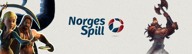 norgesspill logo, figurer fra slots
